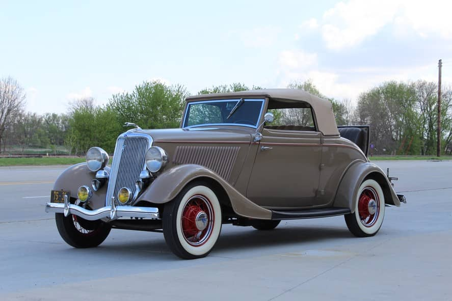 1934 Ford Cabriolet- Inquire for price